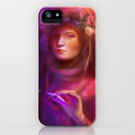 Through Time and Space iPhone Case