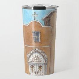 San Francisco de Asis, Rancho de Taos, New Mexico Travel Mug