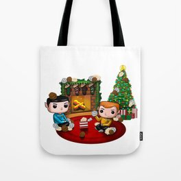 The Trouble with Christmas Tote Bag