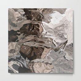 Brownskin texture Metal Print