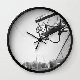 La Belle's Baron's Steed Wall Clock