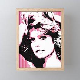 Farrah Fawcett | Pop Art Framed Mini Art Print