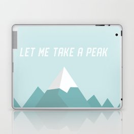 Let Me Take a Peak Laptop & iPad Skin