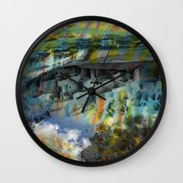 BUFFALO FACTORY  Mesa Verde Wall Clock