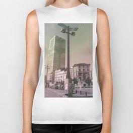 Surrealism City Biker Tank