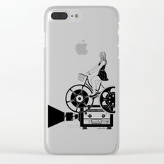 Cinema Paradiso Clear iPhone Case