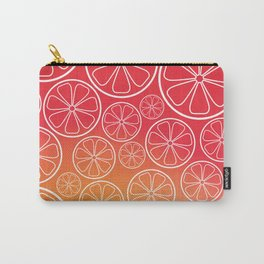Citrus slices (red/orange) Carry-All Pouch