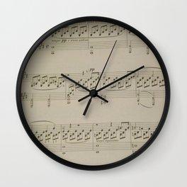 Moonlight Sonata  Wall Clock