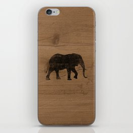 African Elephant Silhouette(s) iPhone Skin