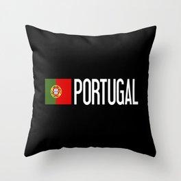 Portugal: Portuguese Flag & Portugal Throw Pillow