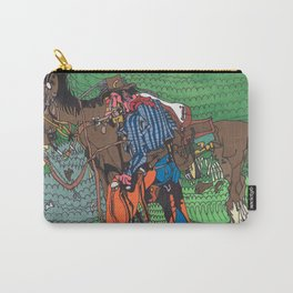 One of a Kind Cowboy Carry-All Pouch