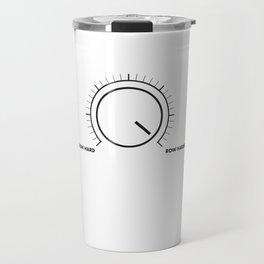 Row Harder Travel Mug