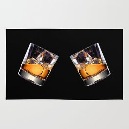 Whisky on the Rocks Rug
