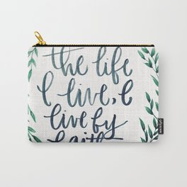 Galatians 2:20 Carry-All Pouch