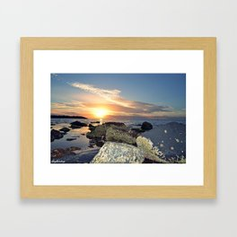 Sunset Bliss Framed Art Print
