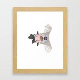 Angel - side Framed Art Print