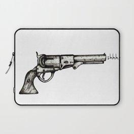 Silent Pistol Laptop Sleeve