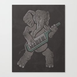 Trunk Rock Canvas Print