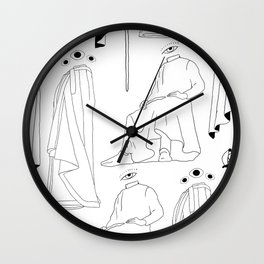 PsicoMagia Wall Clock