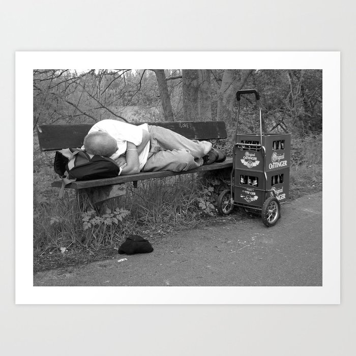 """""""Father´s Day, Germany"""" Art Print"""