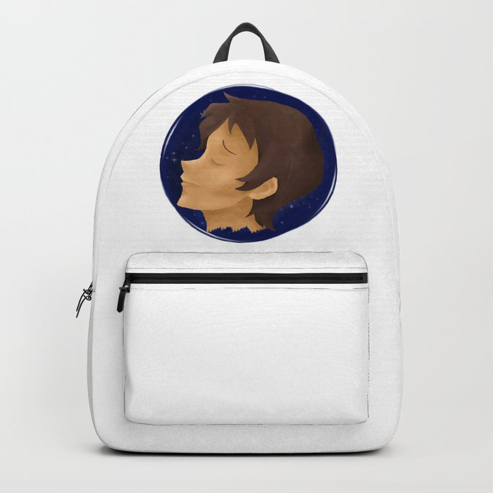 Lance blue galaxy Backpack