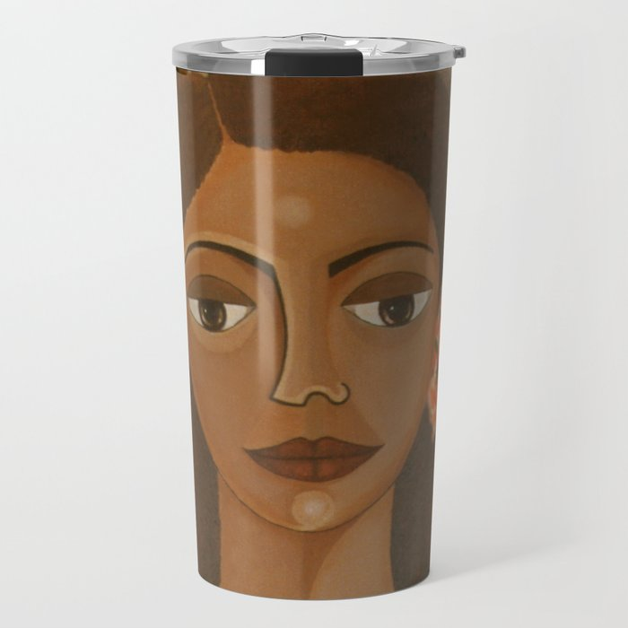 More than flowers she sells illusions Travel Mug