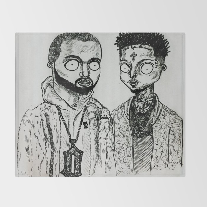Drake&21S Throw Blanket
