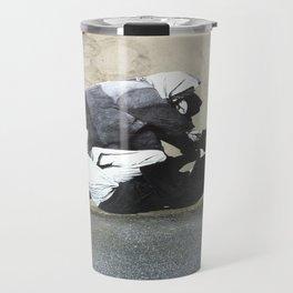 BANKSY  Travel Mug