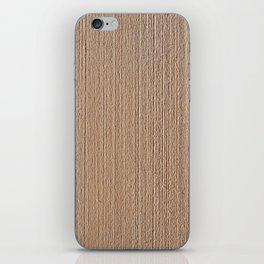Wood texture decoration iPhone Skin