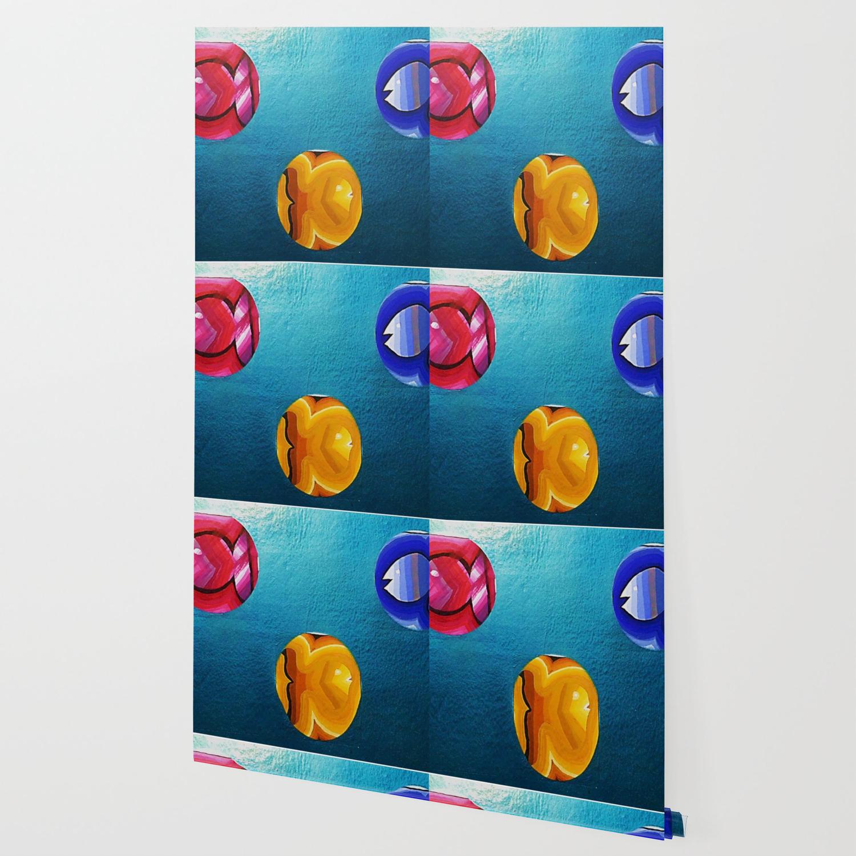Tres Peces En Medio Wallpaper By Juangomy Society6