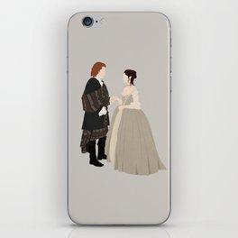 Outlander, Jamie and Claire iPhone Skin