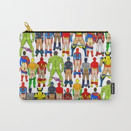 Superhero Butts LV Carry-All Pouch