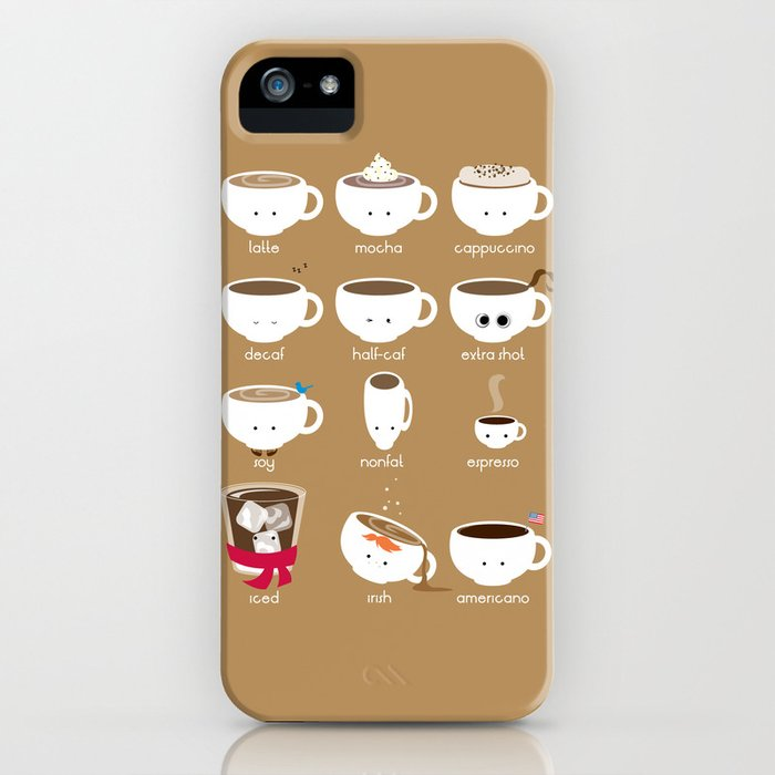 Know Your Coffees iPhone Case