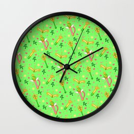 Sailor Jupiter Pattern / Sailor Moon Wall Clock