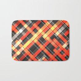 Weave Pattern Bath Mat