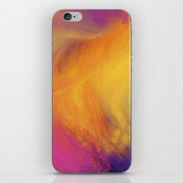 Abstract rainbow pattern iPhone Skin