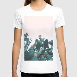 Cactus & Flowers - Follow your butterflies T-shirt