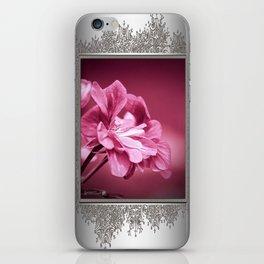 Ivy Geranium named Contessa Purple Bicolor iPhone Skin