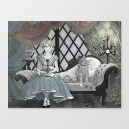 An Uneasy Truce Canvas Print