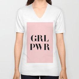 Girl Power - GRL PWR Unisex V-Neck