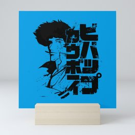 060 Spike Blk Jap Mini Art Print