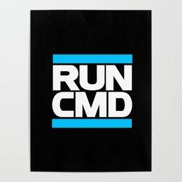 run CMD Poster