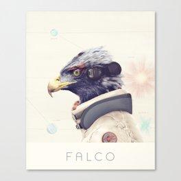 Star Team - Falco Canvas Print