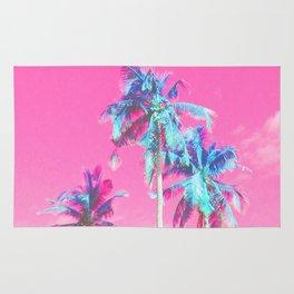 Retro Funk Paradise Palm Rug