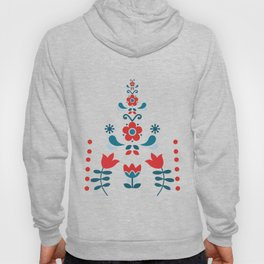 Retro Nordic Folk Hoody