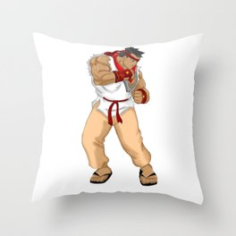 Street Fighter Andres Bonifacio Throw Pillow