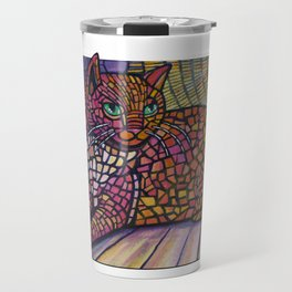 Sunspot cat Travel Mug