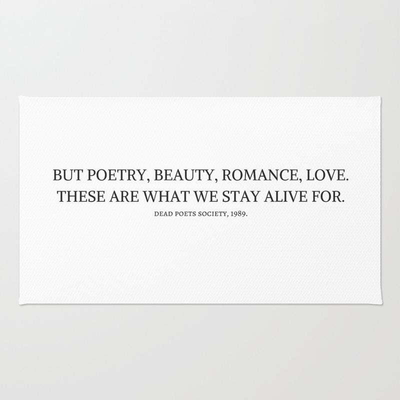 Dead Poets Society Rug by Hemingways RUG9002149