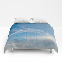 Hummingbird Cloud by Teresa Thompson Comforters