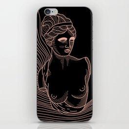 waves of Venus in pink iPhone Skin
